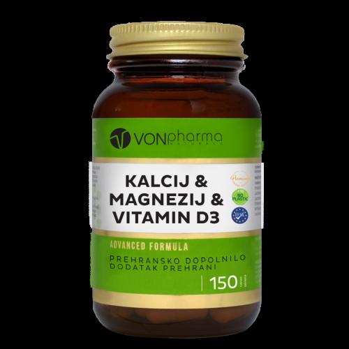 VONpharma-KALCIJ-MAGNEZIJ-VITAMIN-D3-150-tablet-897x1137